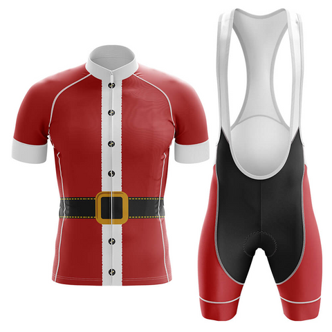Santa Claus Retro Cycling Jersey Set