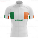 Ireland White Pro Team Cycling Jersey