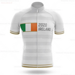 Ireland White Gold Pro Team Cycling Jersey