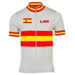 Spanish Flag Retro Cycling Jersey