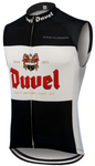 Duvel Beer Black Retro Cycling Vest