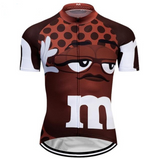 M&Ms Brown Cycling Jersey