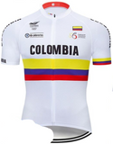 Colombian Cycling Federation Retro Cycling Jersey Set