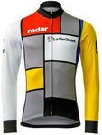 La Vie Claire Retro Cycling Jersey Long Set (With Fleece Option)