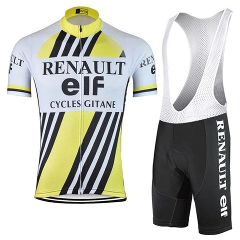 Renault-Elf Retro Cycling Jersey Set