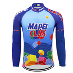 Mapei Retro Cycling Jersey Long Sleeve