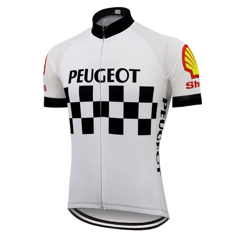 Classic 1960s Peugeot Retro Cycling Jersey