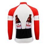 Duvel Beer Retro Cycling Jersey (with Fleece Option)