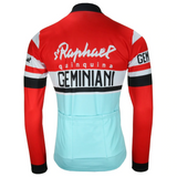 St Raphael Quinquina Geminiani Retro Cycling Jersey (with Fleece Option)
