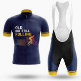 Old But Still Rolling Retro Cycling Jersey Set