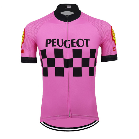 Peugeot Shell Retro Cycling Jersey
