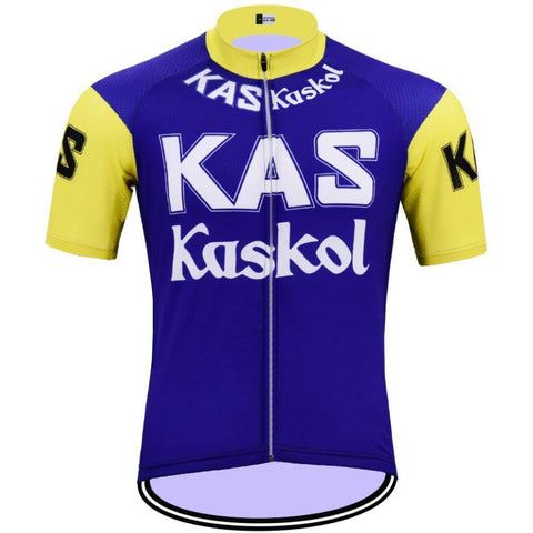 KAS Kaskol Retro Cycling Jersey