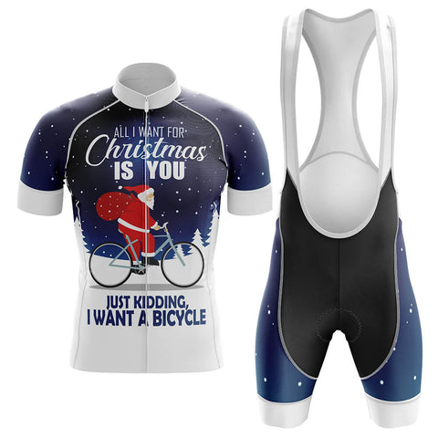 All I Want for Christmas Cycling Jersey Set