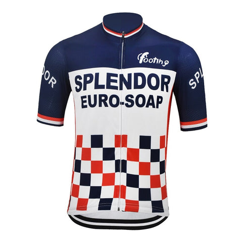 Splendor Euro-Soap Retro Cycling Jersey