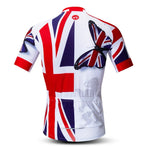 UK Butterfly Union Jack Cycling Jersey