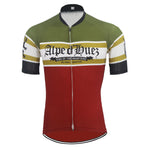 Alpe D'Huez Retro Cycling Jersey Set