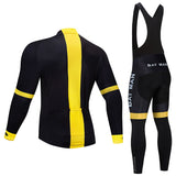 Batman Cycling Jersey Long Set (With Fleece Option)