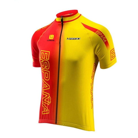 Spanish España Retro Cycling Jersey