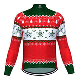 Christmas Jumper-Themed Retro Cycling Jersey