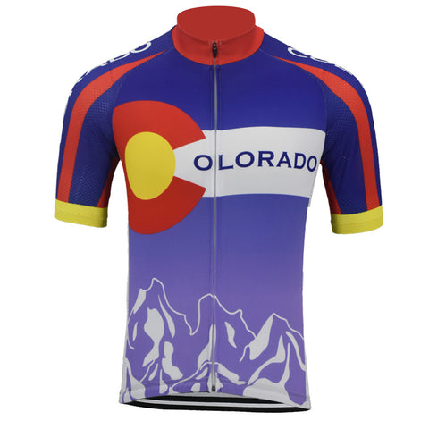 Colorado Retro Cycling Jersey