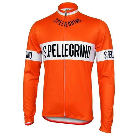 San Pellegrino Retro Cycling Jersey (with Fleece Option)