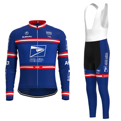 US Postal Service Pro Cycling Team Jersey Long Set
