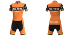 Women's Molteni Orange Retro Cycling Jersey Set
