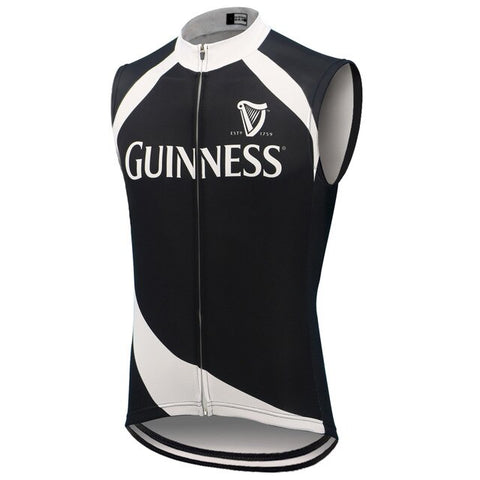 Guinness Black Cycling Vest