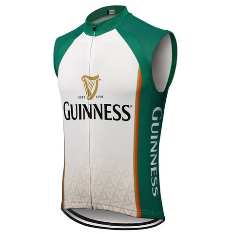 Guinness Green White Cycling Vest