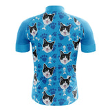 Blue Cats Cycling Jersey