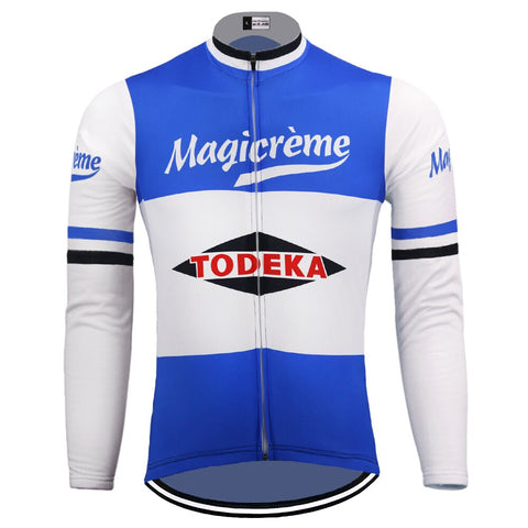 Todeka Magicreme Retro Cycling Jersey (with Fleece Option)