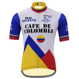 Cafe de Colombia Retro Cycling Jersey