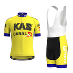 KAS Canal Retro Cycling Jersey Set