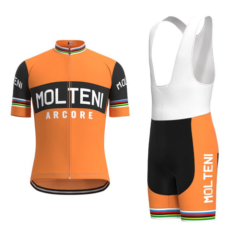 Molteni Arcore Retro Cycling Jersey Set