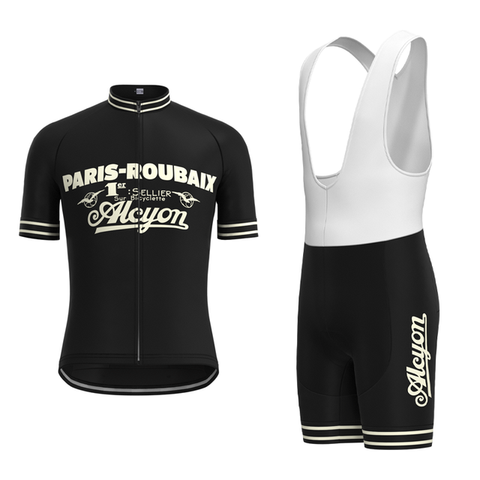 Paris-Roubaix Retro Cycling Jersey Set