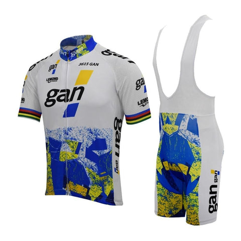 Gan Retro Cycling Jersey Set