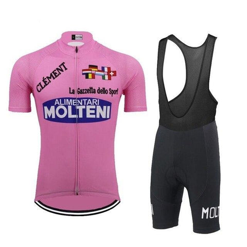 Molteni Alimentari Retro Cycling Jersey Set