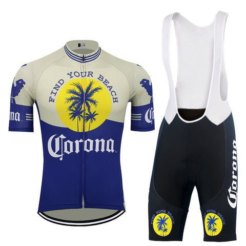 Corona Beer Retro Cycling Jersey Set