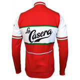 La Casera-Bahamontes Retro Cycling Jersey Long Set (with Fleece Option)