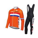 Netherlands Cycling Team Long Set (with Fleece Option)