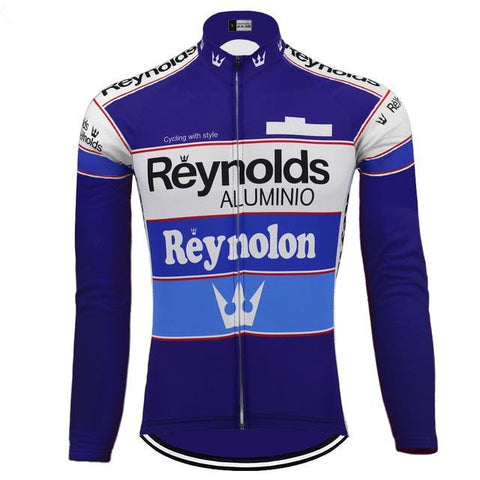 Reynolds Alumino Retro Cycling Jersey (with Fleece Option)