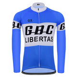 GBC Libertas Retro Cycling Jersey (with Fleece Option)