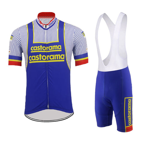Castorama Retro Cycling Jersey Set