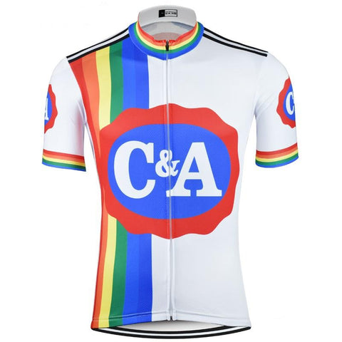 C&A Eddy Merckx Retro Cycling Jersey