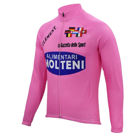Molteni Alimentari Retro Cycling Jersey (with Fleece Option)