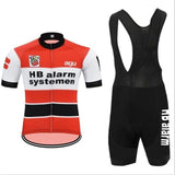 HB Alarm Systemen Retro Cycling Jersey Set