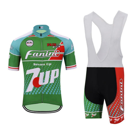 Fanini-7 Up Retro Cycling Jersey Set