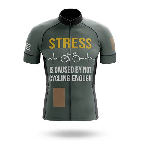 Not Enough Cycling Causes Stress Jersey