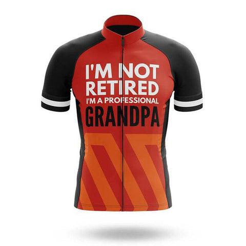 Retired Grandpa Cycling Jersey