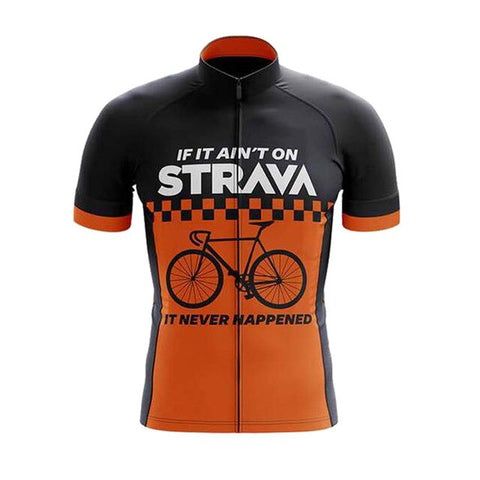 If It Ain't On Strava Cycling Jersey